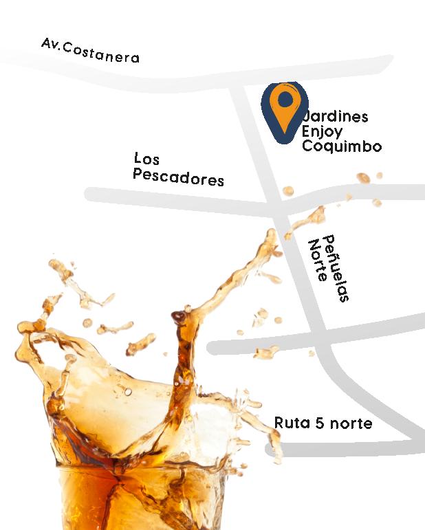 Mapa feria del pisco
