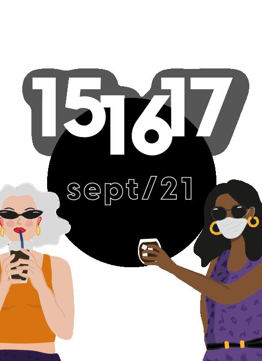 15, 16 y 17 de septiembre de 12 a 20 horas